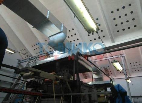Вентилация в завод